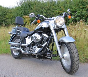 2033 Harley Davidson 100th Anniversary Fat Boy-7000 Mls