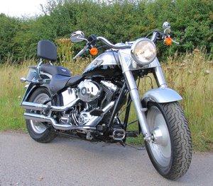 2033 Harley Davidson 100th Anniversary Fat Boy-7000 Mls For Sale