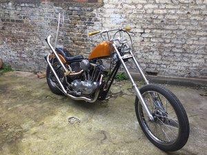 1975 Harley Davidson Chopper Ironhead