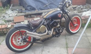 1984 Ironhead bobber 50s style For Sale