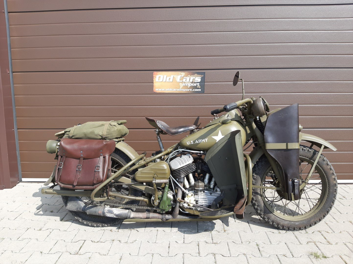 1942 Harley Davidson WLA For Sale (picture 1 of 6)