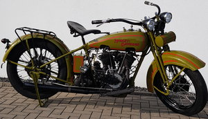 1929 Harley J-Model 1000 one of only 2.886 build
