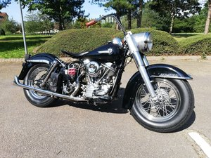 1962 Harley Panhead Duo Glide. 1200. Immaculate