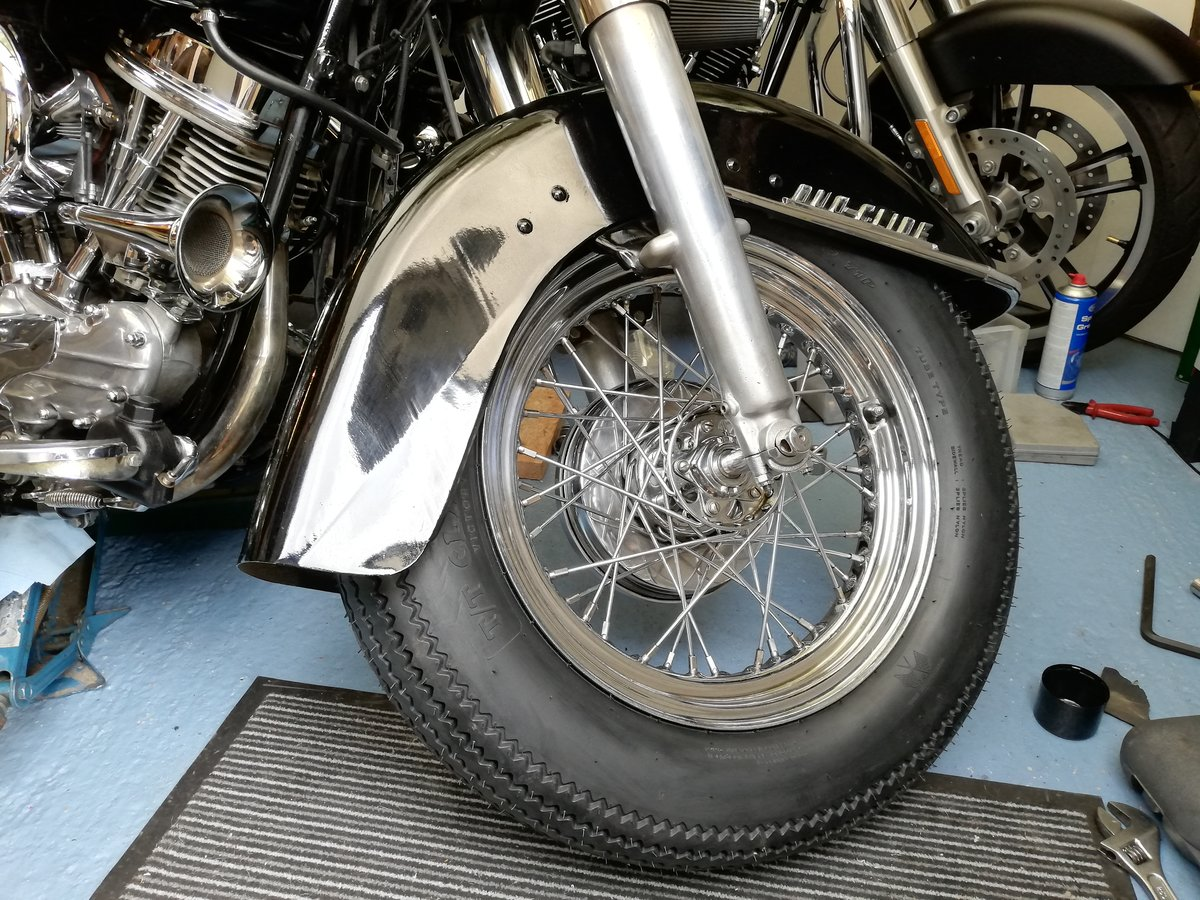 1962 Harley Panhead Duo Glide. 1200. Immaculate For Sale (picture 4 of 4)