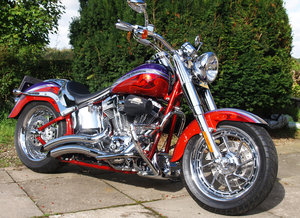 Harley Davidson FLSTFSE FAT BOY SCREAMING EAGLE