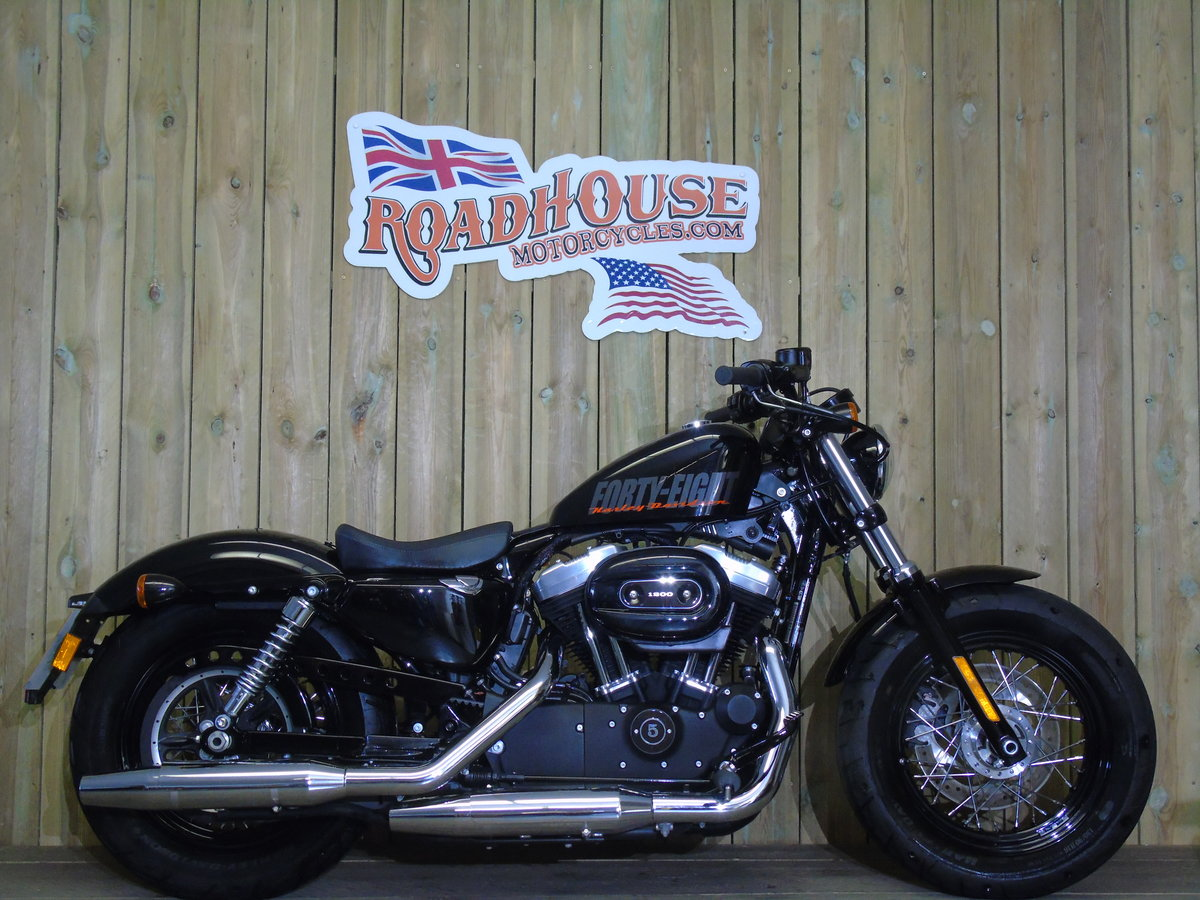2014 Harley Davidson XL1200 X Forty Eight Only 1200 Miles For Sale (picture 1 of 6)
