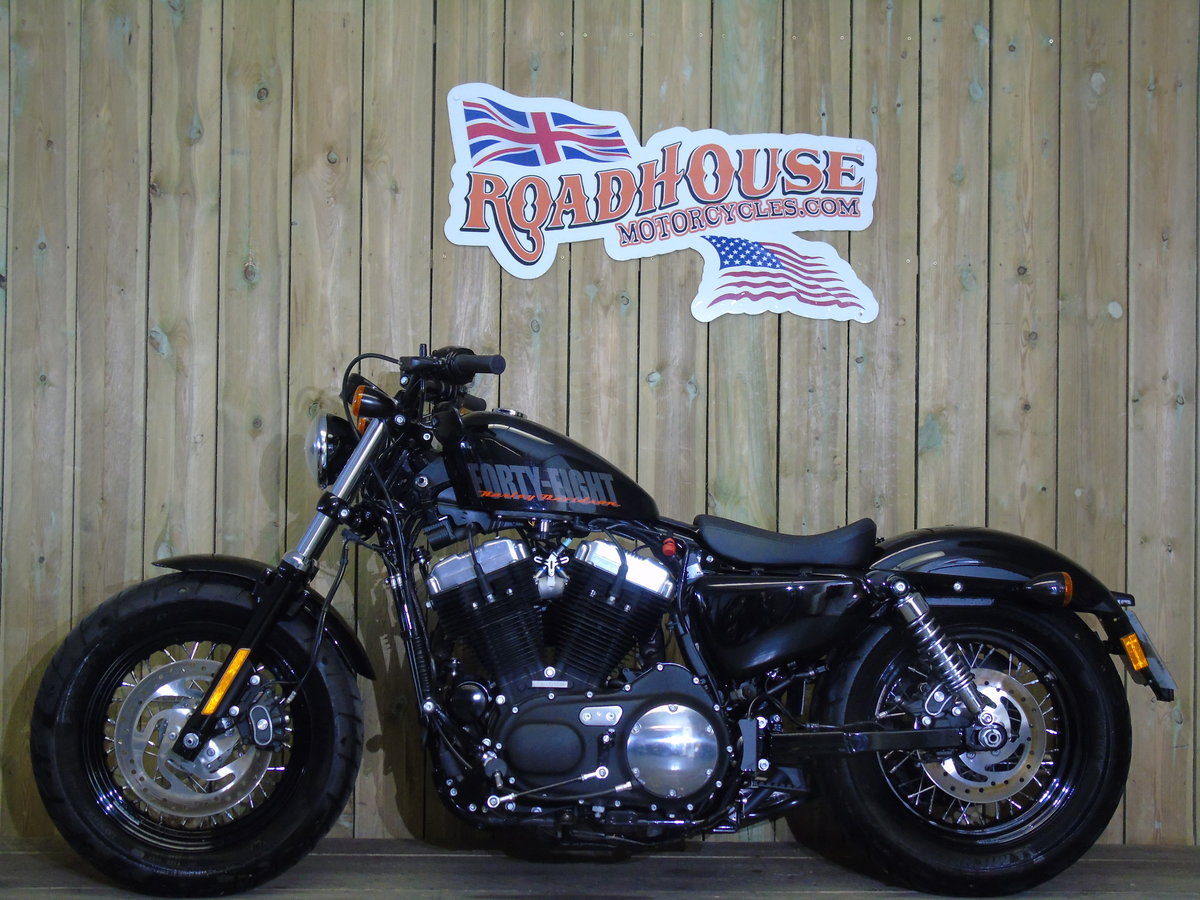 2014 Harley Davidson XL1200 X Forty Eight Only 1200 Miles For Sale (picture 2 of 6)