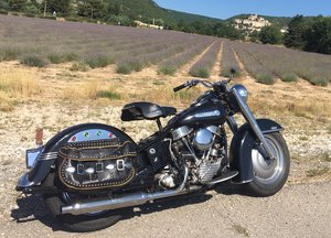 1950 Harley Davidson FL50 Panhead For Sale
