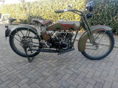 1924 Harley Davidson Model JE For Sale by Auction (picture 1 of 6)