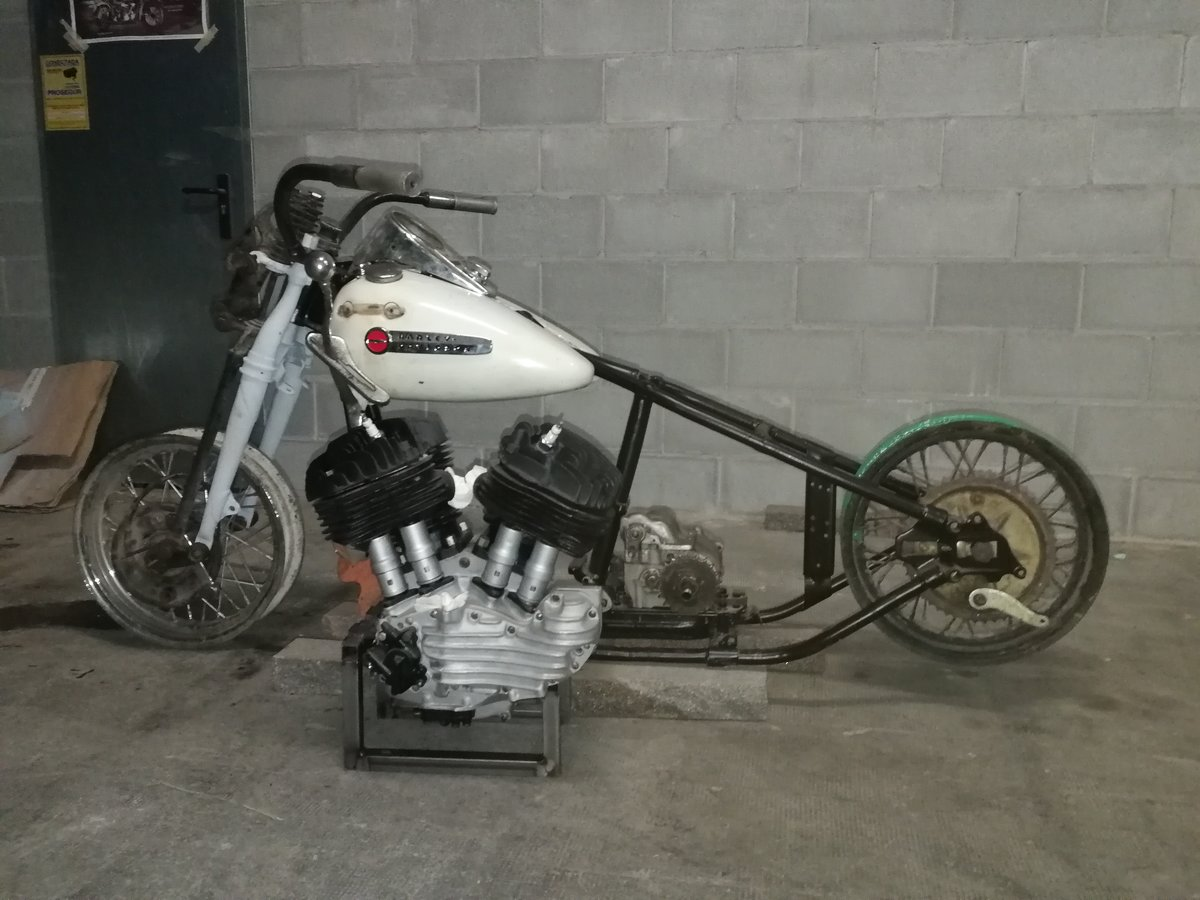 1947 Harley UL Big Twin project for sale For Sale (picture 1 of 6)