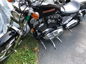 1994 Harley Sportster and 2009 Kawasaki 650R Ninja For Sale