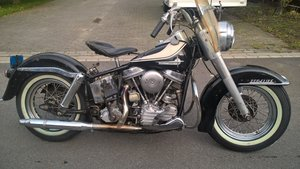 Harley Davidson duo glide  1961 SOLD