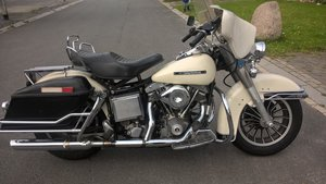 Electra glide 1980 tokyo police  SOLD