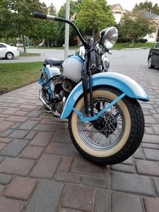 1942 Harley Davidson WLC, professionally restored