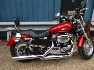 Picture of Harley Davidson Sportster XL1200C 2014 SOLD