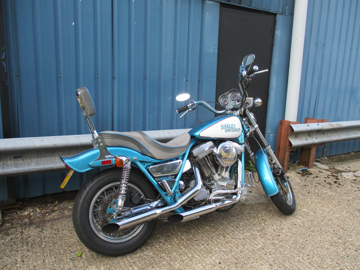 1992 Harley Davidson FXRP police model - now sold For Sale (picture 1 of 4)