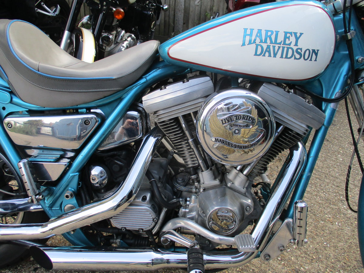1992 Harley Davidson FXRP police model - now sold For Sale (picture 2 of 4)