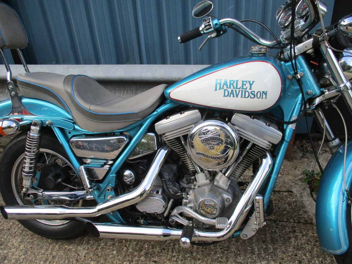 1992 Harley Davidson FXRP police model - now sold For Sale (picture 3 of 4)