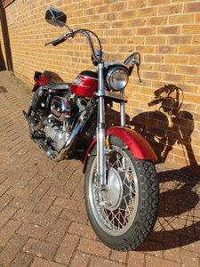 1972 Harley Davidson XLCH 1000cc ironhead