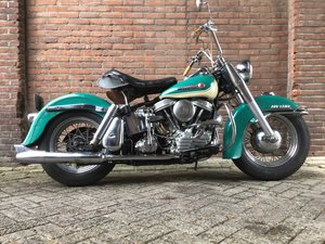 Harley Davidson 1958 duo glide