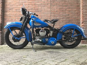 1948 Harley Davidson wl