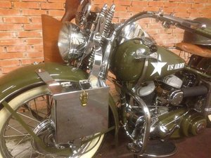 1942 Harley Davidson WLA For Sale