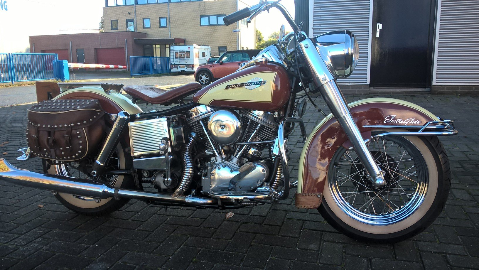 Harley davidson 1965 panhead . SOLD (picture 1 of 6)