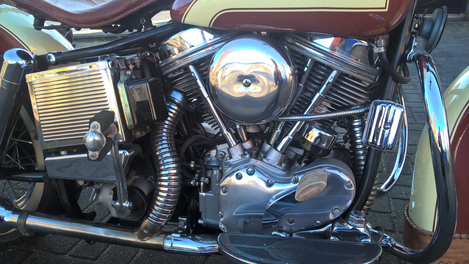 Harley davidson 1965 panhead . SOLD (picture 2 of 6)