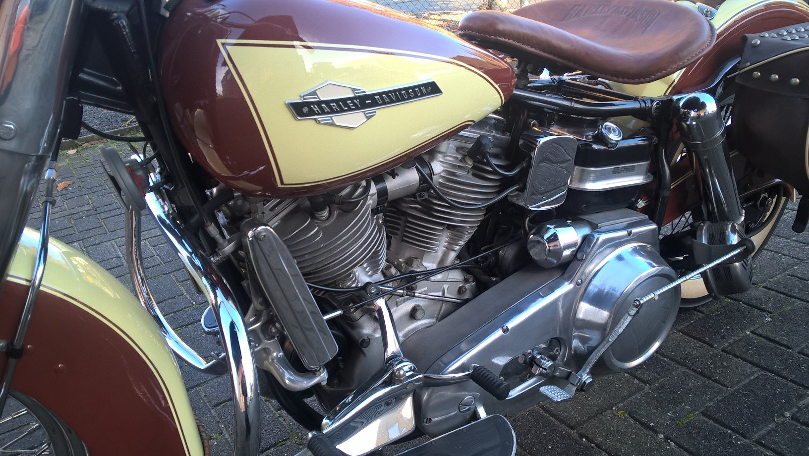 Harley davidson 1965 panhead . SOLD (picture 3 of 6)