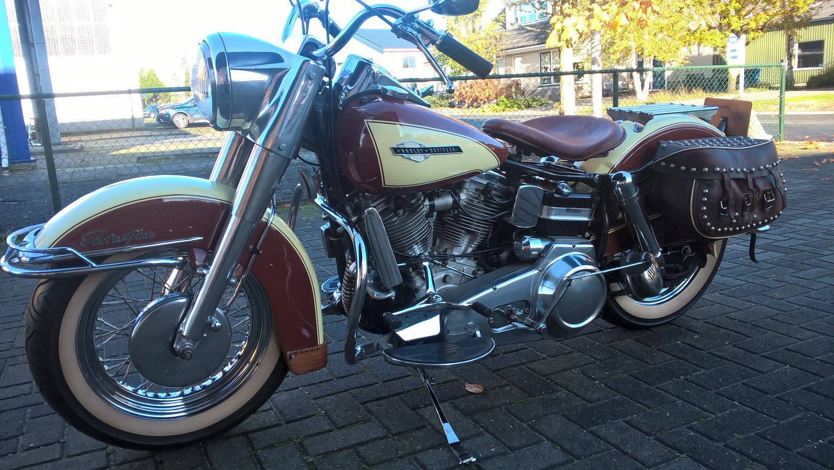 Harley davidson 1965 panhead . SOLD (picture 5 of 6)