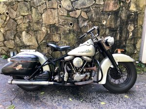 1960 1955 Harley-Davidson FLE Panhead Original Paint