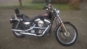 1990 harley davidson FXLR low rider custom For Sale
