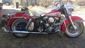 1960 Harley Davidson Panhead Duo-Glide For Sale