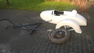 1940 Side car project for harley davidson  SOLD