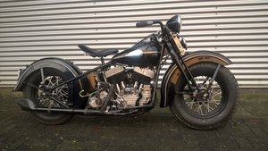 Harley davidson 1947 model U SOLD