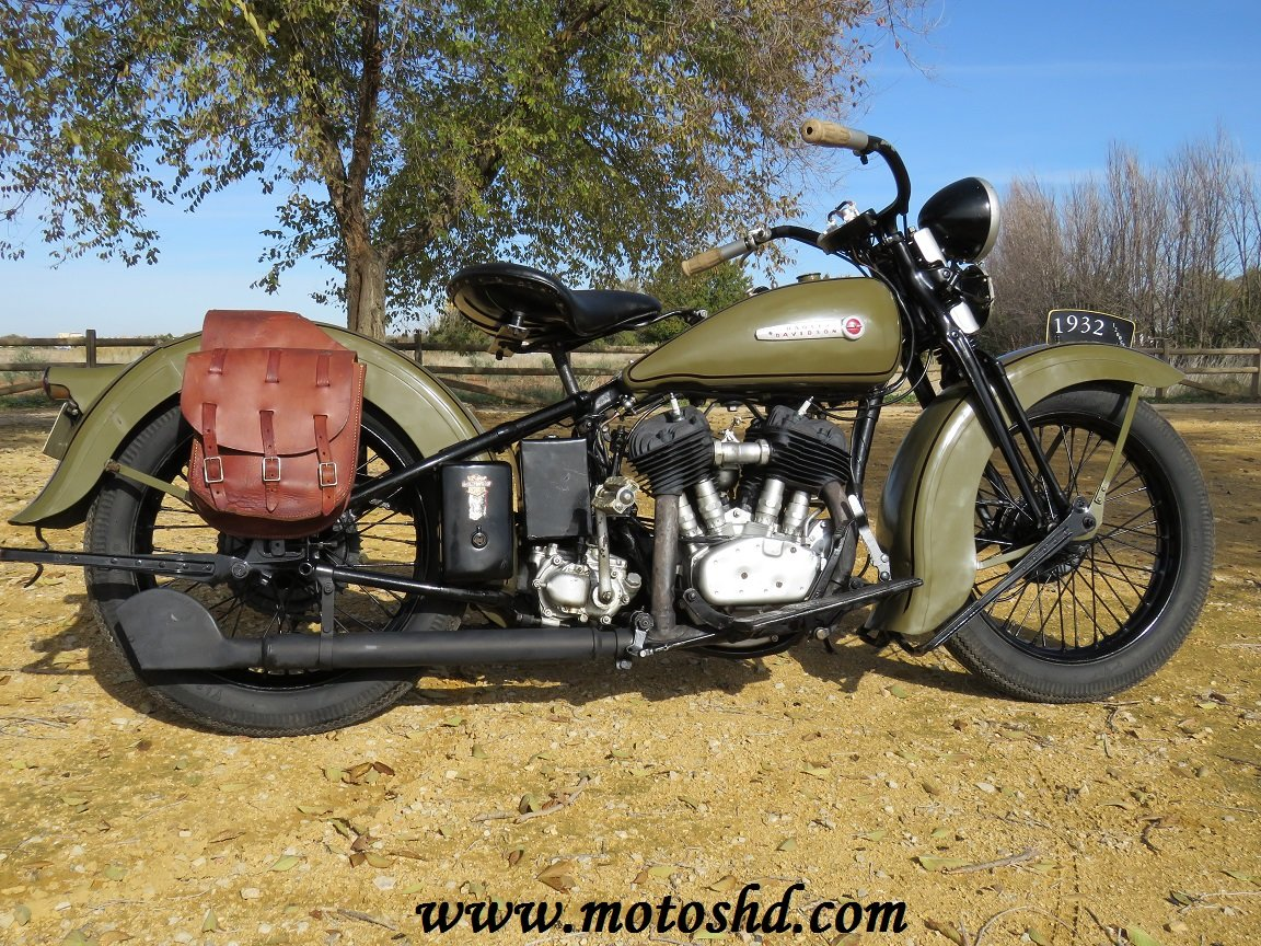 Harley Davidson V model from 1932 For Sale (picture 1 of 6)