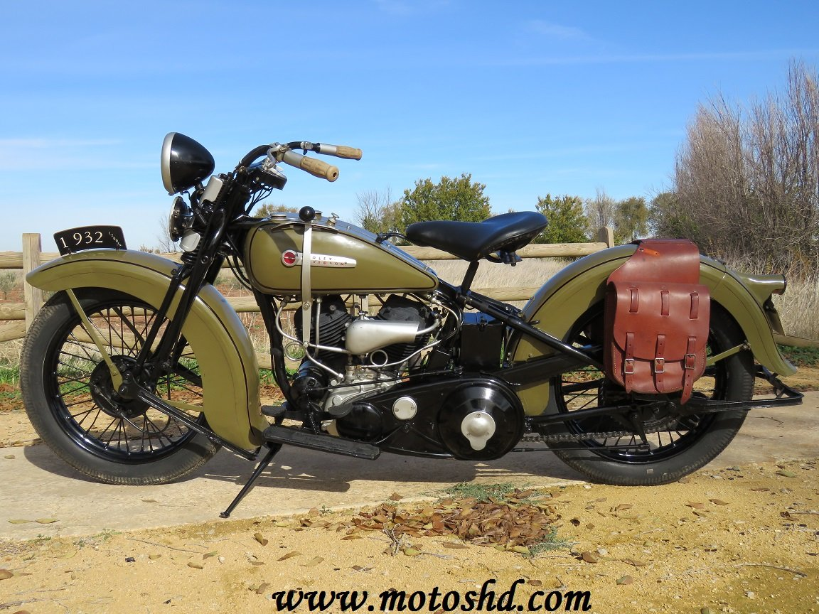 Harley Davidson V model from 1932 For Sale (picture 2 of 6)