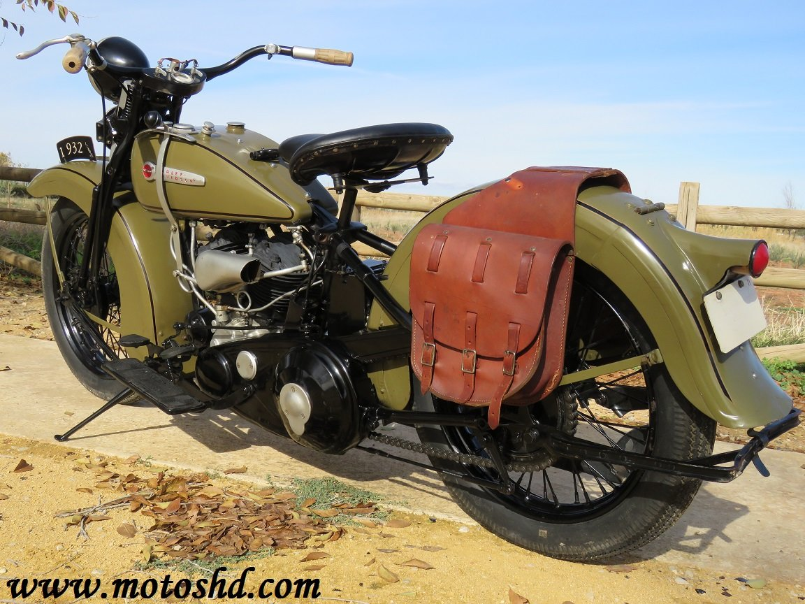 Harley Davidson V model from 1932 For Sale (picture 4 of 6)