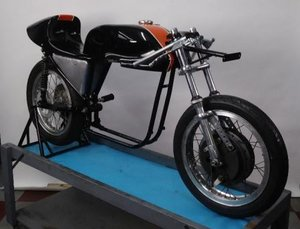 1968 Harley Davidson KRTT Road Race Rolling Chassis