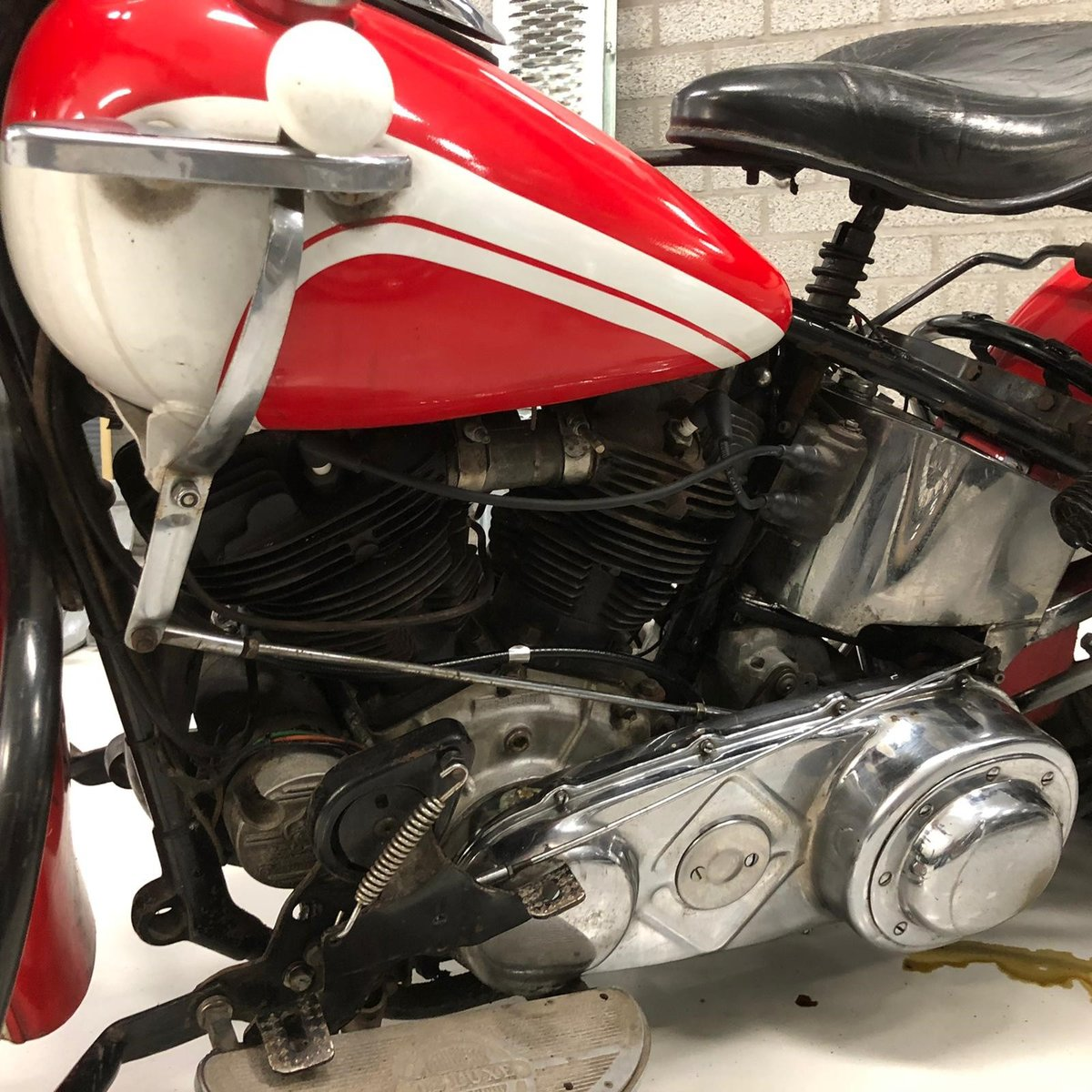 Harley Davidson knucklehead 1946 For Sale (picture 4 of 6)