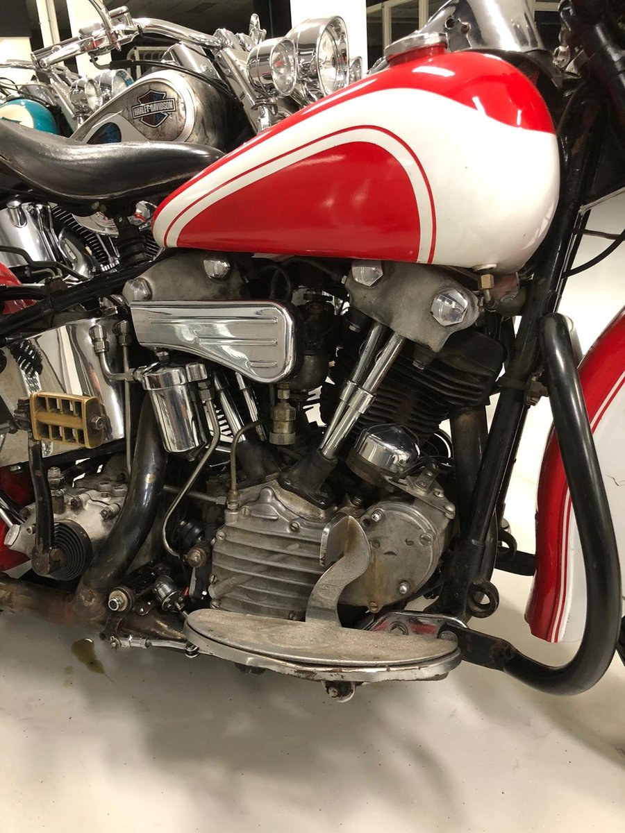 Harley Davidson knucklehead 1946 For Sale (picture 6 of 6)