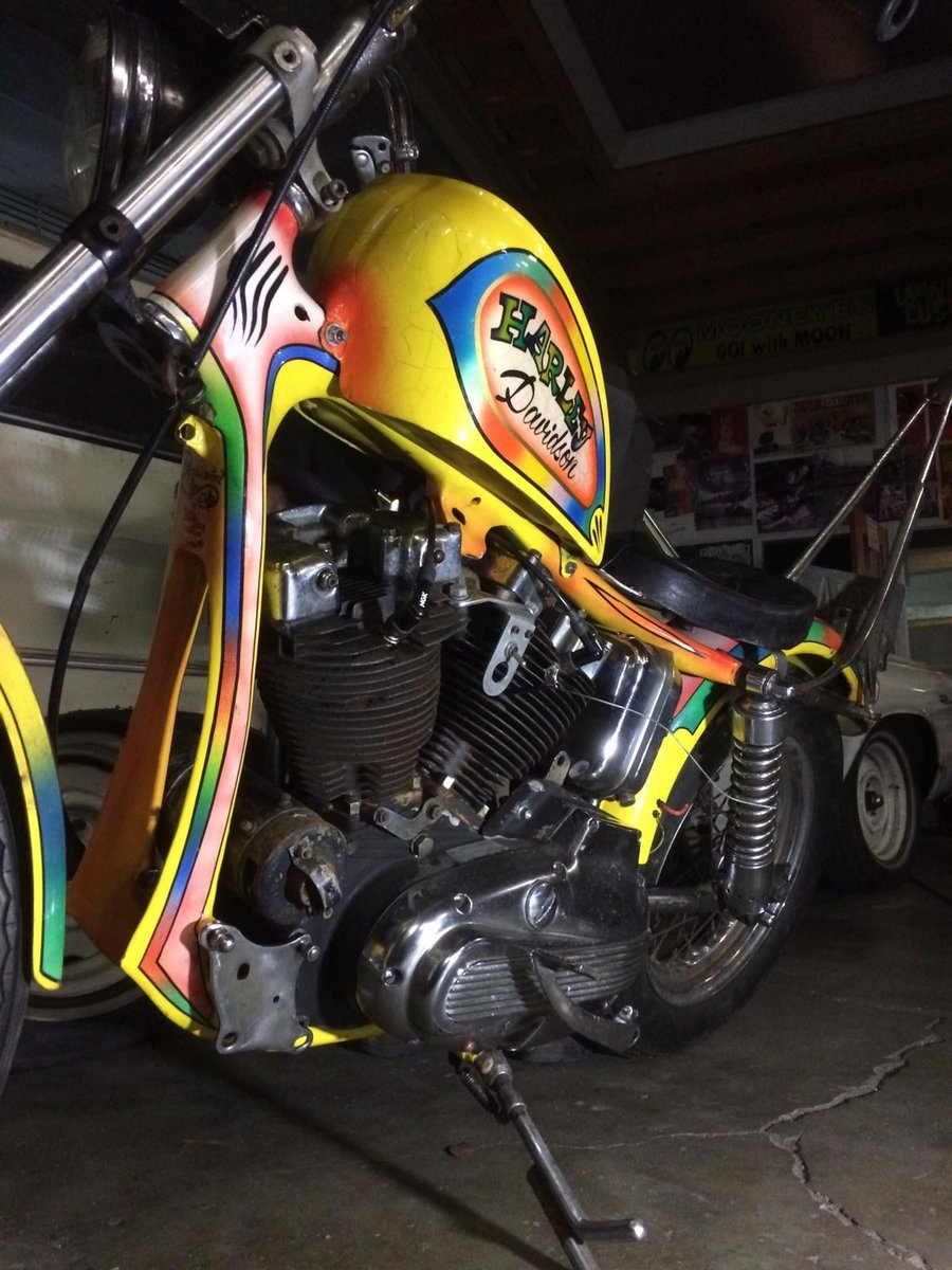 harley davidson old skool chopper 1971 SOLD | Car And Classic