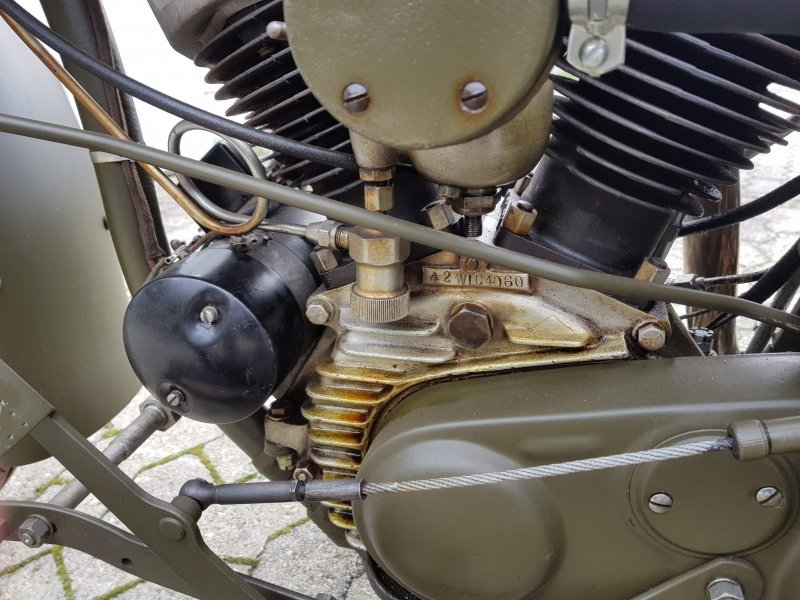 Very rare 1942 Harley Davidson WLC Servicar For Sale (picture 4 of 6)