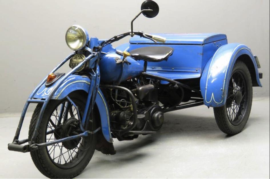 1937 Harley Davidson Servicar For Sale (picture 3 of 6)