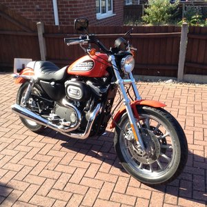 2006 Harley Davidson 883r 2002 model 560 miles from new