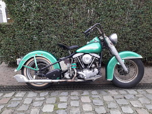 1952 Harley Davidson Panhead Hydra Glide For Sale