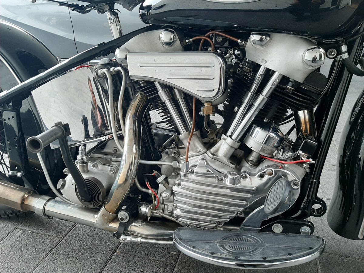 Harley Davidson knucklehead 1940 For Sale (picture 1 of 6)