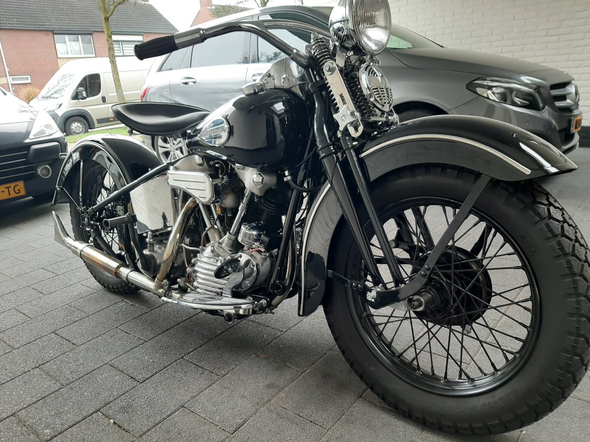Harley Davidson knucklehead 1940 For Sale (picture 3 of 6)