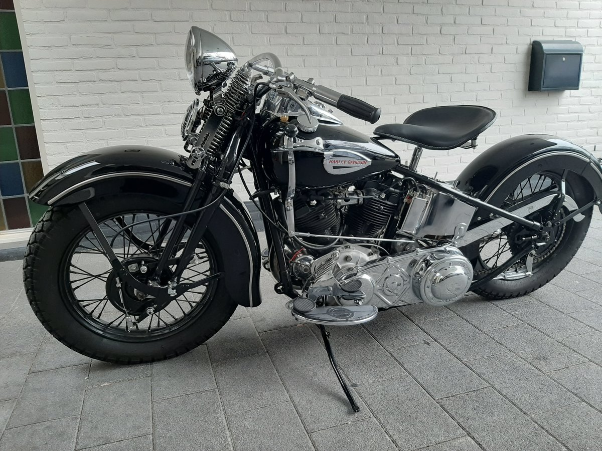 Harley Davidson knucklehead 1940 For Sale (picture 5 of 6)