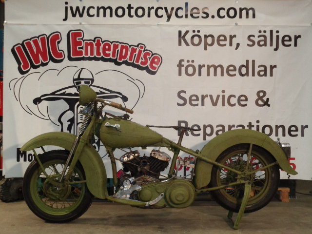 Harley-Davidson WL 1946 For Sale (picture 1 of 6)